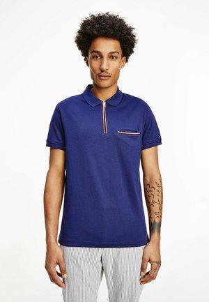 ZIP PLACKET  - Polo shirt - dark blue