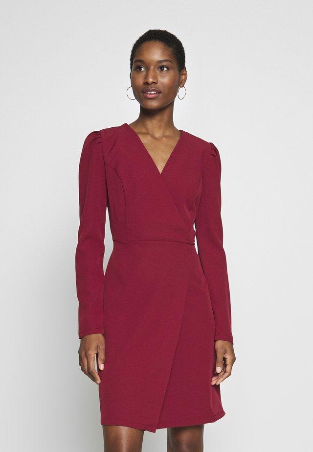 Vestito elegante - burgundy