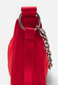 Weekday - CHAIN HAND BAG - Handbag - red