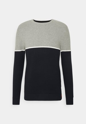 JORBREEZE CREW NECK - Trui - light grey melange