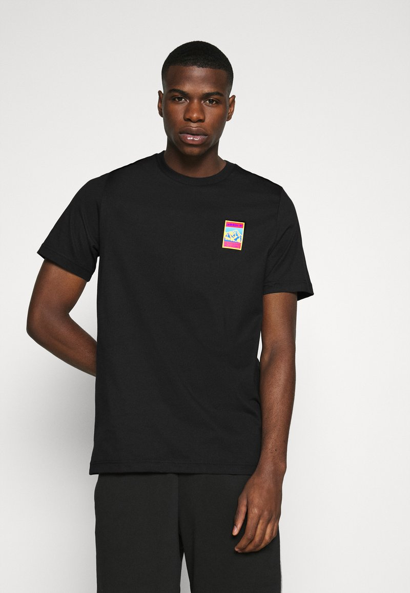 adidas Originals - SPORTS INSPIRED SHORT SLEEVE TEE - Camiseta estampada - black