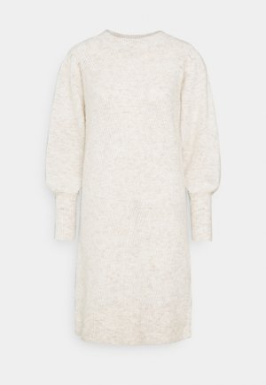 SLFLINNA DRESS O-NECK - Jumper dress - sandshell