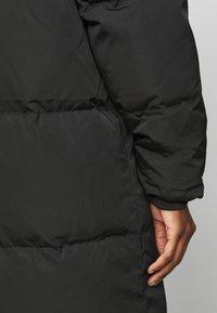 Object Tall - OBJLOUISE LONG JACKET - Down coat - black - 5