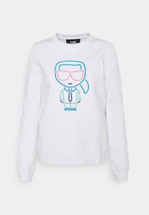 KARL IKONIK OUTLINE - Sweatshirt - white