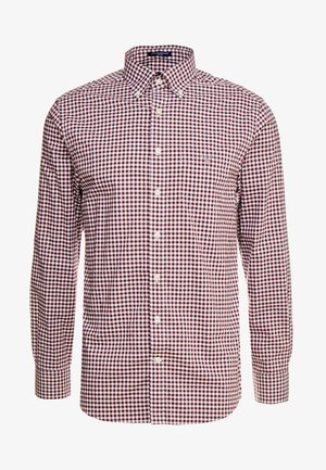 THE BROADCLOTH GINGHAM - Camicia - port red