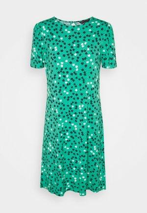 DITSY SWING DRESS - Žerzejové šaty - green