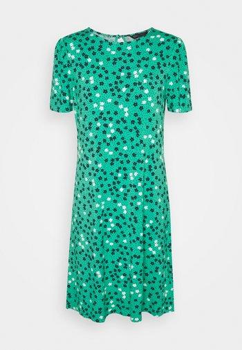 DITSY SWING DRESS - Jersey dress - green