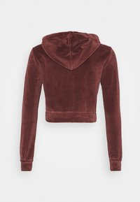 BDG Urban Outfitters - HOODY - Zip-up hoodie - chocolate - 1