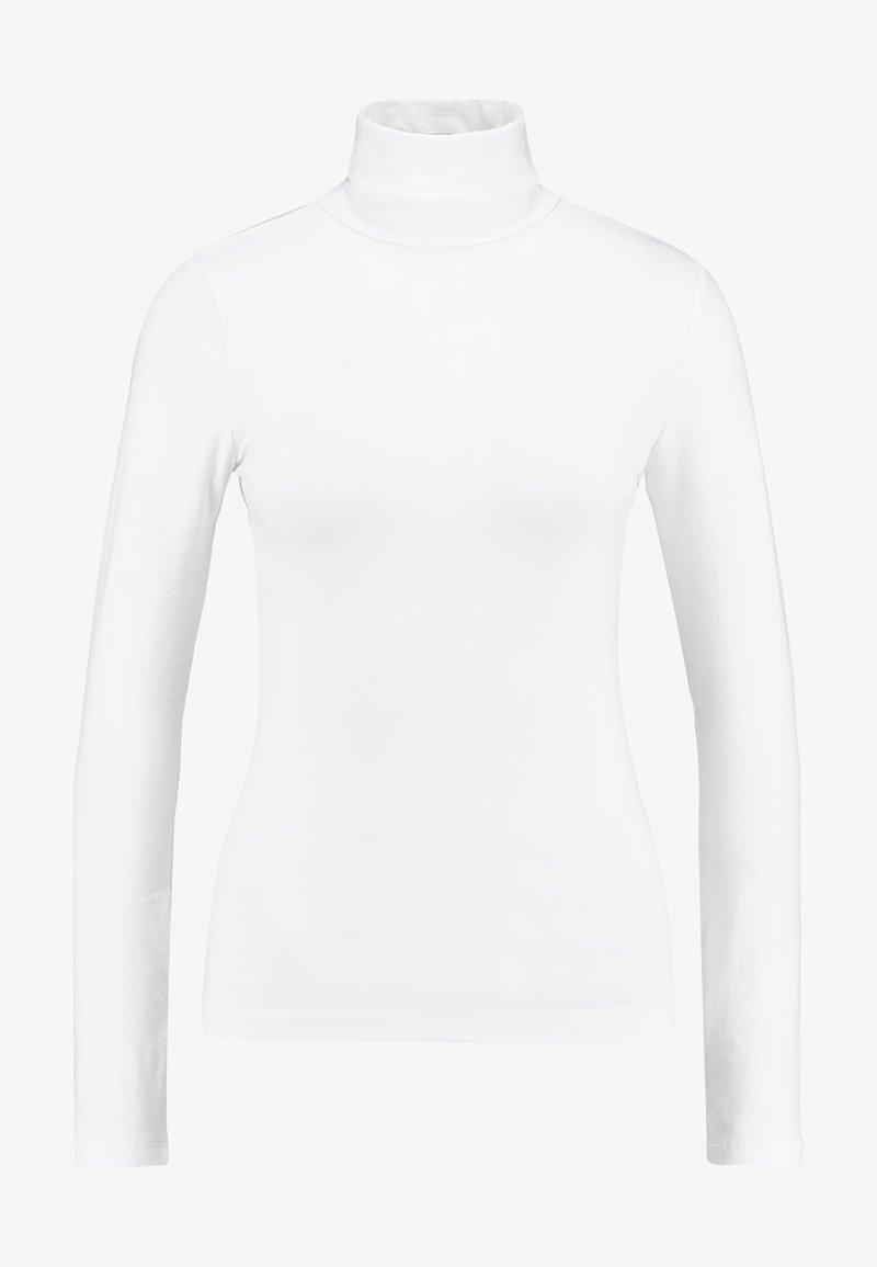 Anna Field BASIC - Langarmshirt - white/weiß NrdImh