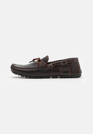CLARK - Moccasins - dark brown