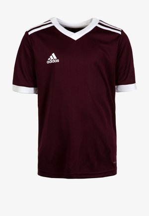 TABELA  - Basic T-shirt - bordeaux
