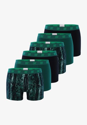 6 PACKS  - Pants - green/black