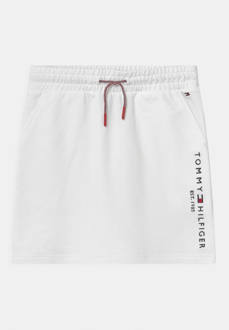 Tommy Hilfiger - ESSENTIAL - Minijupe - white