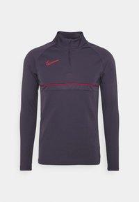 Nike Performance - Sports shirt - dark raisin/siren red - 0