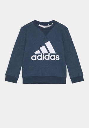 Sweater - crew navy melange/white