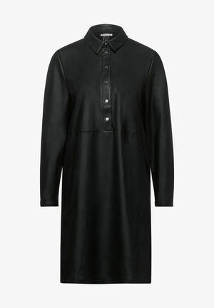 Shirt dress - schwarz