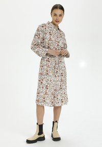 Soaked in Luxury - Shirt dress - floral expression light - 0