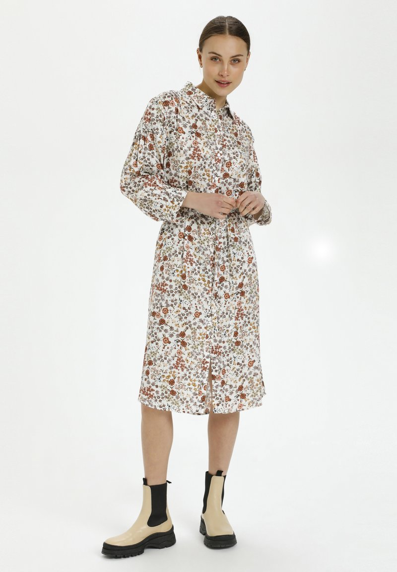 Soaked in Luxury - Shirt dress - floral expression light