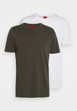 TWIN PACK - Undershirt - open green