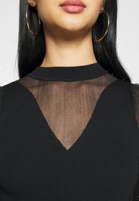 Nly by Nelly - SLEEVE  - Topper langermet - black - 6