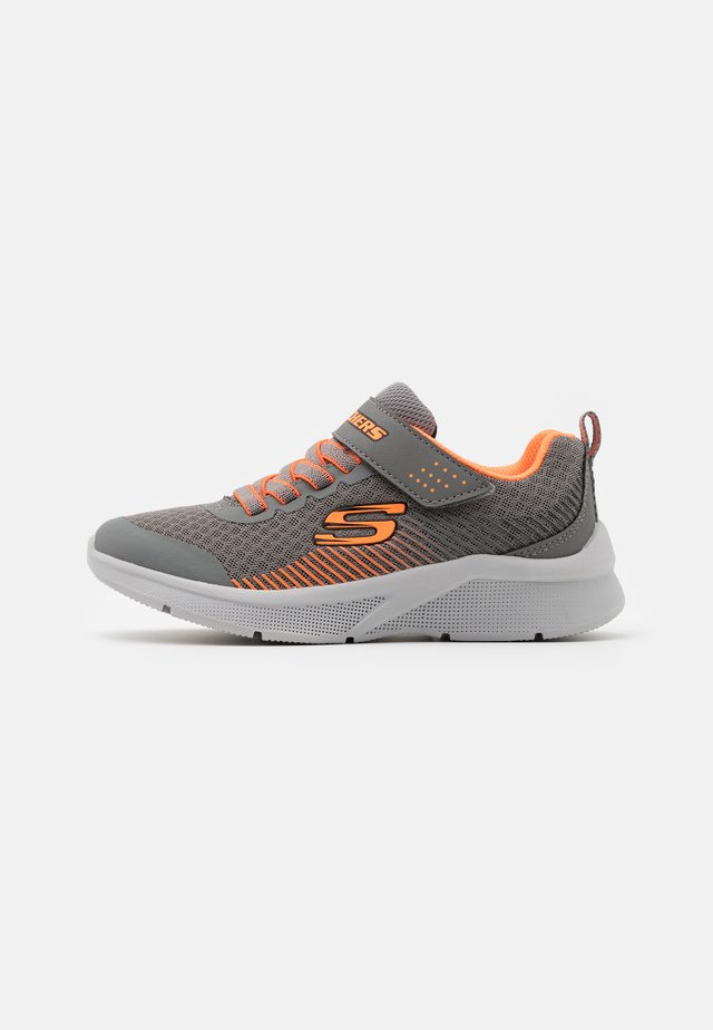 MICROSPEC - Trainers - gray/orange/black