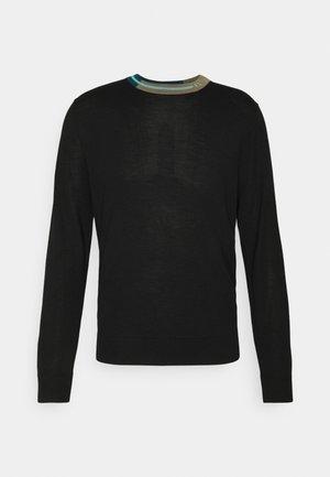 MENS CREW NECK - Pullover - black