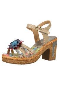 LAURA VITA - High heeled sandals - grey - 2