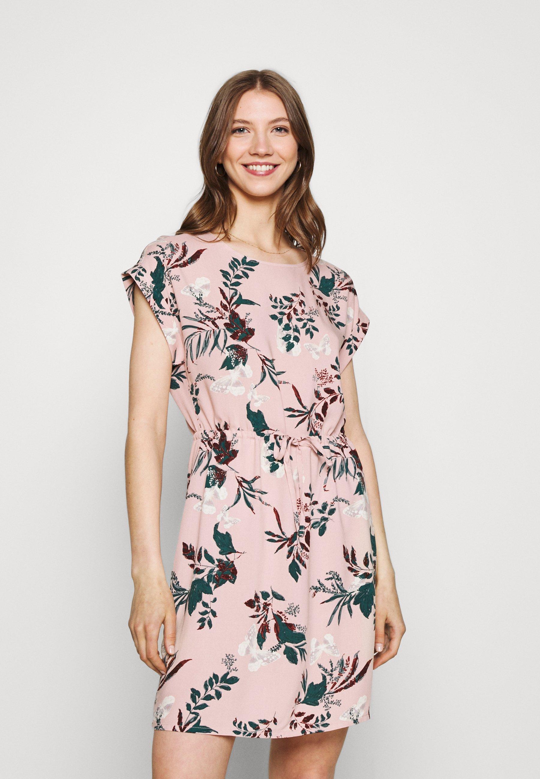 Damen VMSIMPLY EASY TIE SHORT DRESS - Freizeitkleid