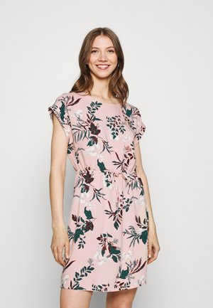 VMSIMPLY EASY TIE SHORT DRESS - Kjole - misty rose