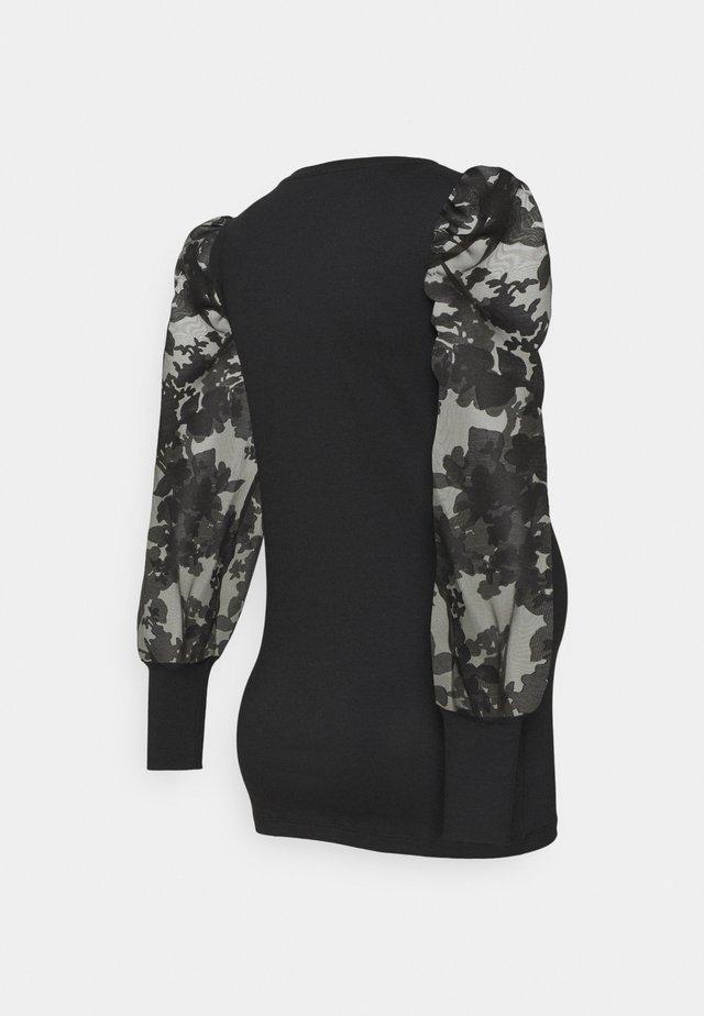 MLABELINE - Maglietta a manica lunga - black