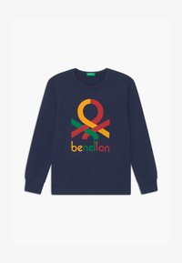 Benetton - BASIC BOY - Sweatshirt - dark blue - 0