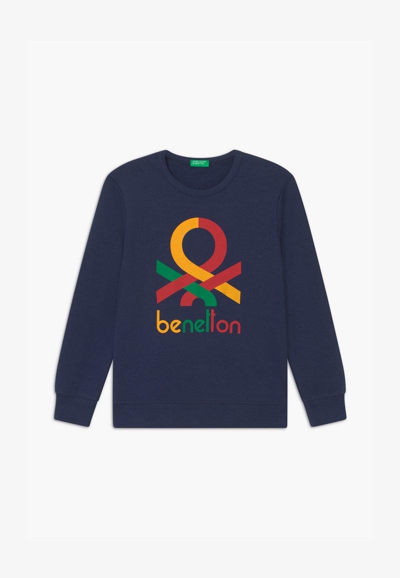 Benetton - BASIC BOY - Sweatshirt - dark blue