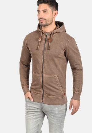 ITASCHI - Zip-up hoodie - brown