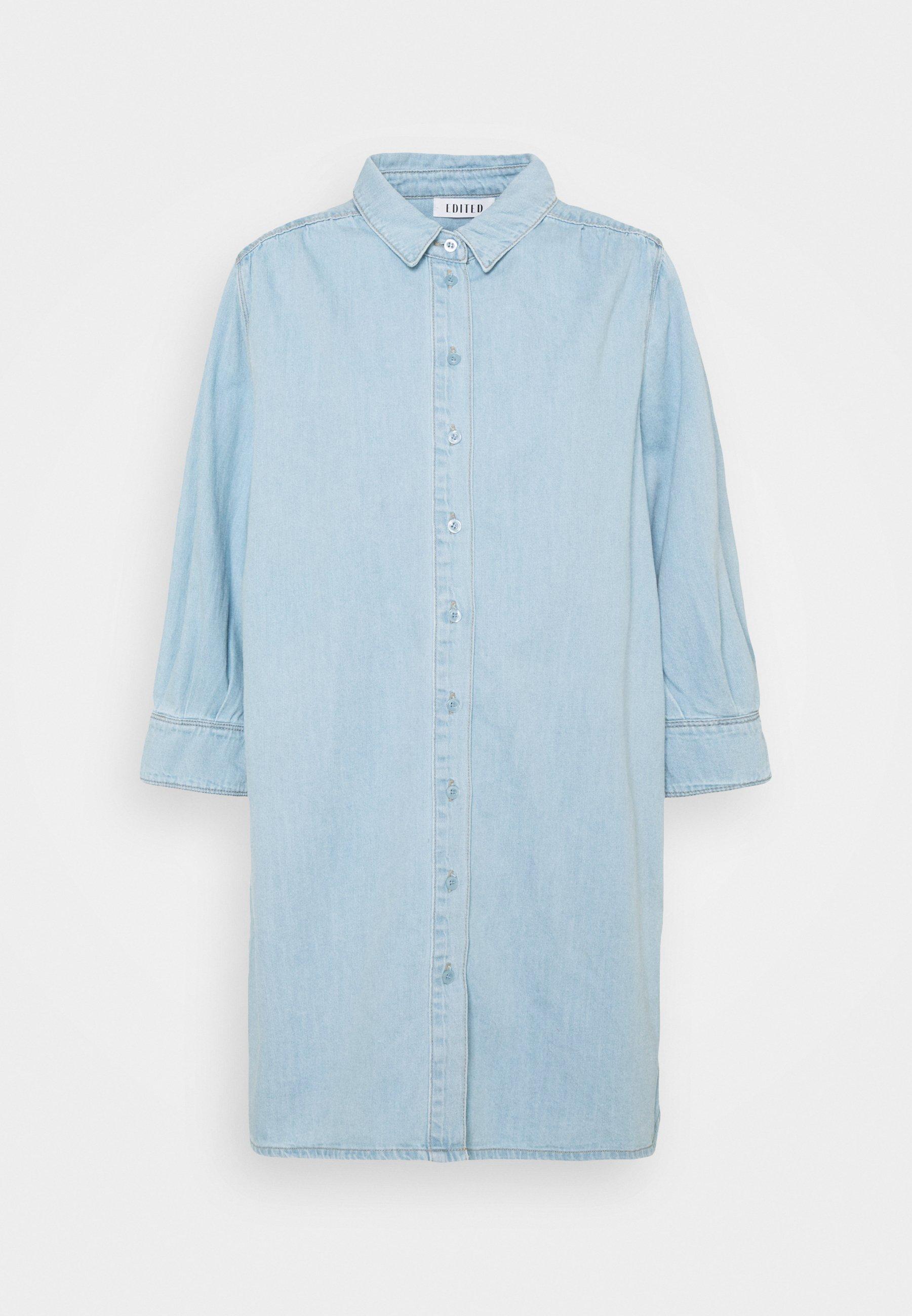Women SIENA DRESS - Denim dress