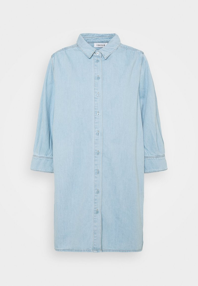 EDITED - SIENA DRESS - Denim dress - light blue
