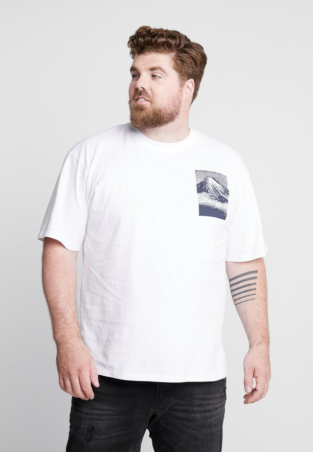FROM FUJI - T-shirt med print - white