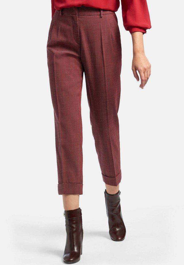 Pantaloni - rot/multicolor