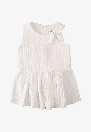 MUSLIN - Korte jurk - white