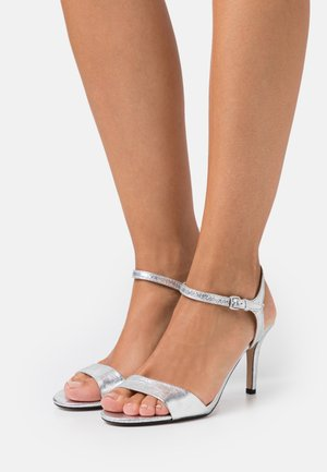 VALERIE - High heeled sandals - silver