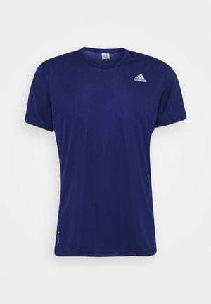 RESPONSE AEROREADY RUNNING SHORT SLEEVE TEE - T-shirt z nadrukiem - victory blue