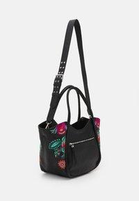 Desigual - BOLS LOUVRE ROTTUM - Handbag - black - 1