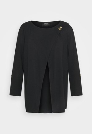 ONLELLE CARDIGAN - Vest - black