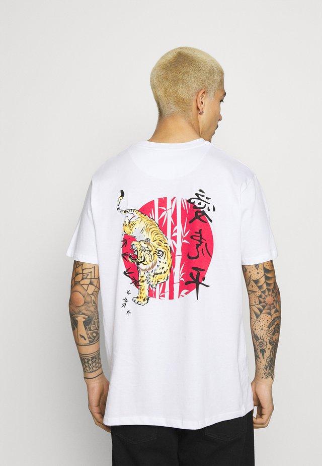 TOKYO - T-shirt imprimé - white