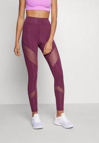 Even&Odd active - Leggings - purple - 0
