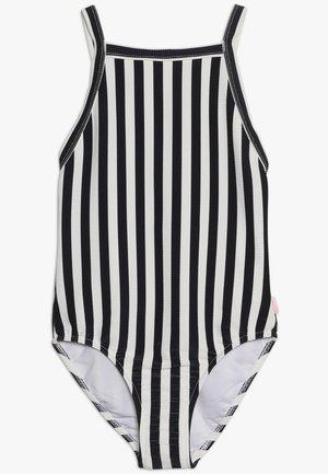 Swimsuit - black/white