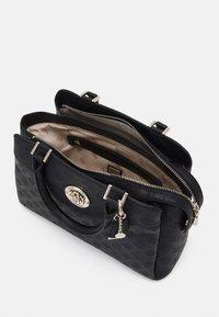 Guess - DAYANE TRIPLE SATCHEL - Handbag - black - 2
