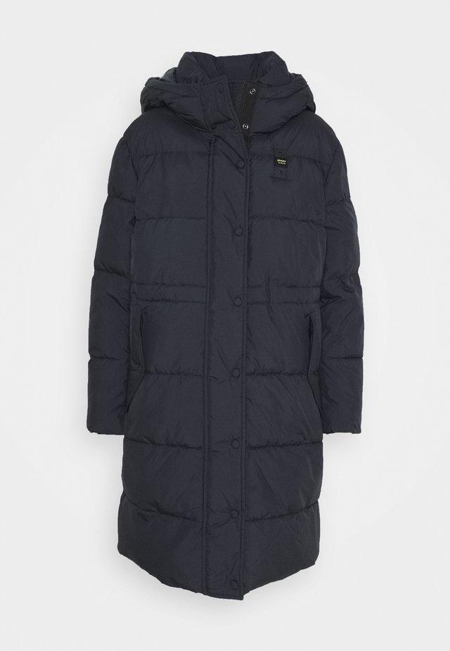 IMPERMEABILE LUNGHI IMBOTTITO - Winter coat - dark blue