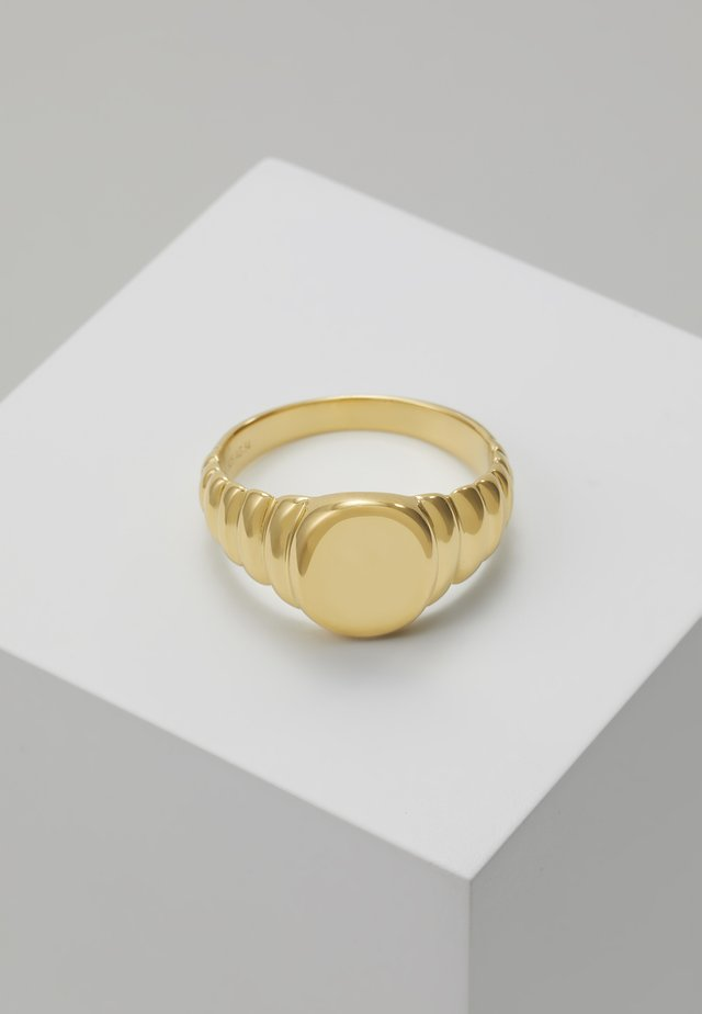 WAVE - Ring - gold-coloured
