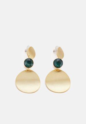SHY LONG EAR - Earrings - gold-coloured/green