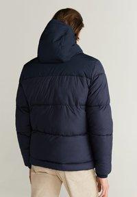 Mango - THERMO-ANORAK - Winter jacket - dunkles marineblau - 2